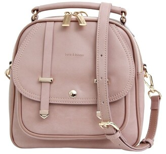 Belle & Bloom Camila Dust Pink Flap Over Backpack CAM300PNK