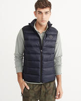 Abercrombie & Fitch Packable Lightweight Puffer Vest