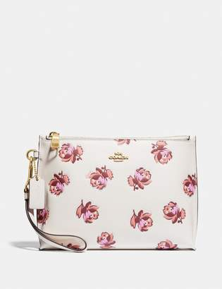 Coach Charlie Pouch With Floral Print