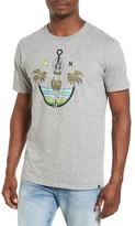 Hurley Men's Anchors Away Graphic T-Shirt