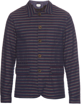 Oliver Spencer Navigator striped cotton jacket