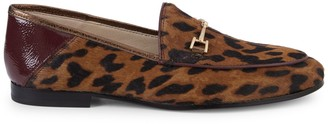 Sam Edelman Loraine Calf-Hair Bit Loafers