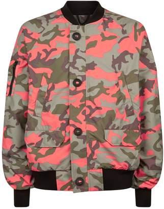 Canada Goose Faber Camouflage Bomber Jacket