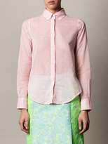 MiH Jeans Micro floral-print shirt