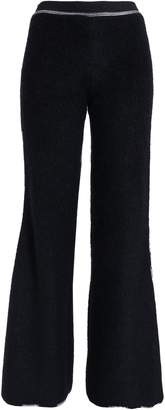 Missoni Embroidered Boucle-knit Wide-leg Pants
