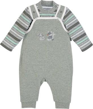 Sterntaler Romper Set Jersey Waldis Age: 0-2 Months Size: 50 Grey Melange