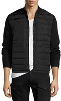 Ralph Lauren Down-Vest Combo Sweater, Black