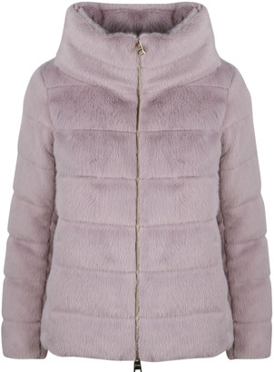 Herno Faux Fur Down Jacket