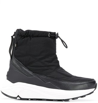 Woolrich drawstring-cuff ankle boots