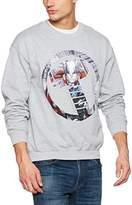 Marvel Men's Avengers Thor Montage Symbol Sweat Sweatshirt