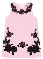 Dolce & Gabbana Embroidered Rose Dress