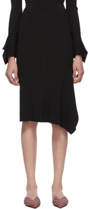 Max Mara Black Fano Skirt