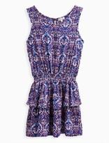 Splendid Girl Printed Drop Waist Dress