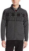 Weatherproof Vintage Men's Full-Zip Cardigan Sweater