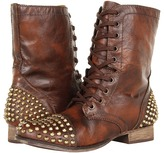 Steve Madden Tarnney (Brown/Gold) - Footwear