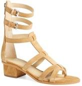 Marc Fisher Women's 'Fawn' Gladiator Block Heel Sandal