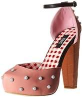 Iron Fist Women's Peaches and Cream Platform Dress Pump,6 M US