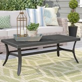 Dominque Metal Coffee Table Darby Home Co