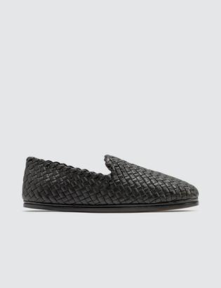 Bottega Veneta Weave Leather Loafer