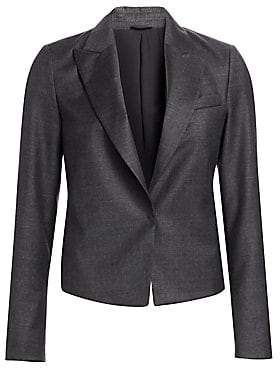 Brunello Cucinelli Women's Single-Breasted Virgin Wool Jacket