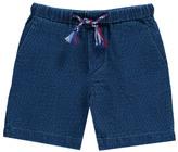 Simple Sale - Madrid Textured Bermuda Shorts