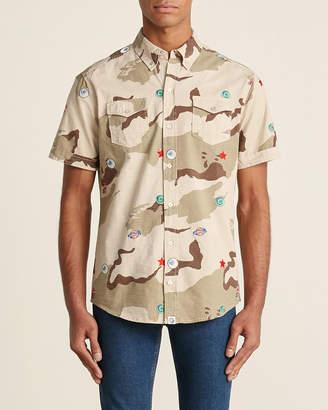 Billionaire Boys Club Smoke Grey Camo All Seeing Shirt