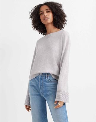 Club Monaco Bell Sleeve Cashmere Sweater