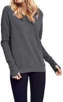 LAmade Women's Long Sleeve Thermal Tee With Thumbhole Cuffs