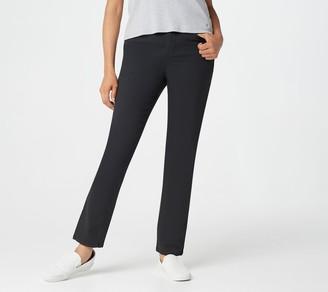 Denim & Co. 5-Pocket Petite Straight Leg Jeans