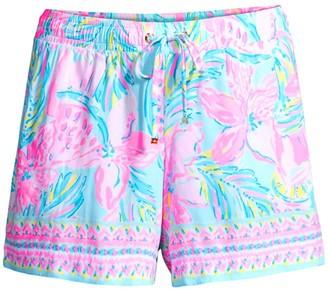 Lilly Pulitzer Katia Drawstring Shorts