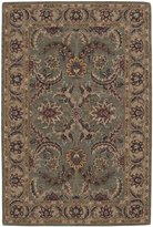 Nourison India House IH18 Rectangle Rug, Green, 2.6'x4.0'
