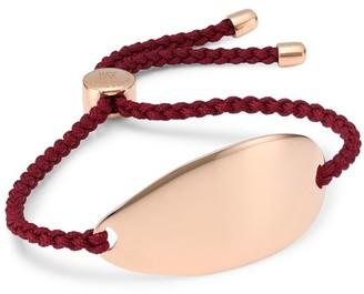 Monica Vinader Nura 18K Rose Gold Friendship Bracelet