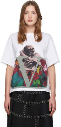 Valentino White Undercover Edition V Lovers T-Shirt