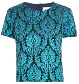 Marques Almeida MARQUES'ALMEIDA Short-sleeved brocade top