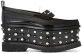 Givenchy wedge platform loafers - women - Lamb Skin/Leather/rubber - 36