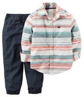 Carter's Pants and Striped Shirt Playwear Set