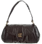 Just Cavalli Embossed Shoulder Bag