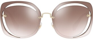 Miu Miu cut out Scenique sunglasses