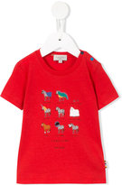 Paul Smith zebra print T-shirt - kids - Cotton - 3 mth