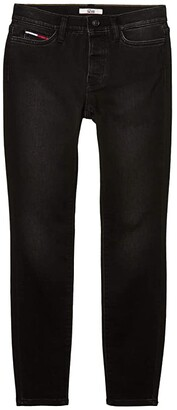 Tommy Hilfiger Adaptive Knit Leggings in Black Wash (Black Wash) Women's Jeans