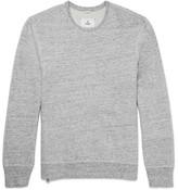 Reigning Champ Mélange Loopback Cotton-jersey Sweatshirt - Gray