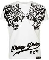 Philipp Plein Swarovski Tiger T-shirt