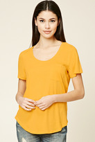 Forever 21 FOREVER 21+ Patch Pocket Tee