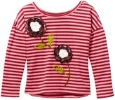 Mimi & Maggie Rowing Tee (Little Girls)