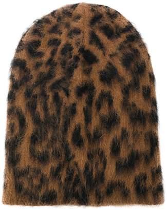 Laneus animal pattern beanie