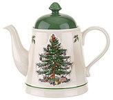 Spode Christmas Tree Embossed Teapot