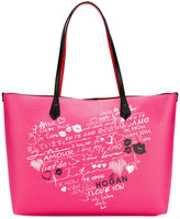 Hogan printed tote - women - Leather - One Size