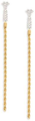 Fallon Yacht Club Sliver Linear Earrings