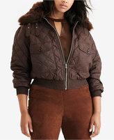 Lauren Ralph Lauren Plus Size Quilted Bomber Jacket