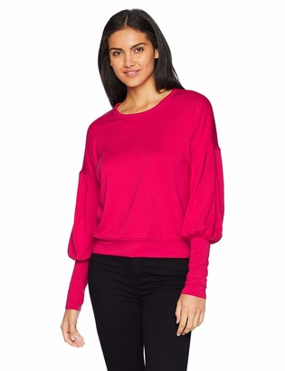 Bailey 44 Women's Siberian Superluxe Fleece Puffsleeve Sweatshirt
